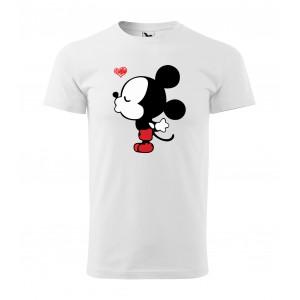 Pánské valentýnské tričko s krátkým rukávem