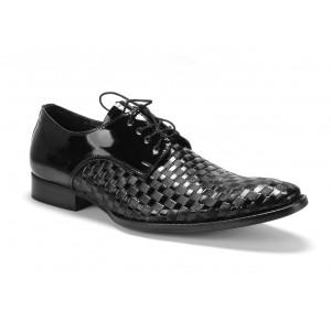 Pánské kožené boty COMODO E SANO na šněrování