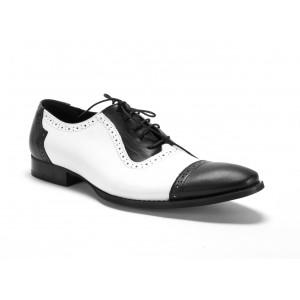 Pánské kožené boty COMODO E SANO na vázání