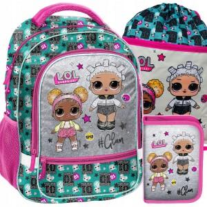 Školní taška L.O.L surprise s příslušenstvím