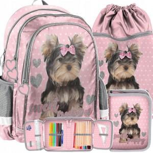 Školní taška s Yorkshire
