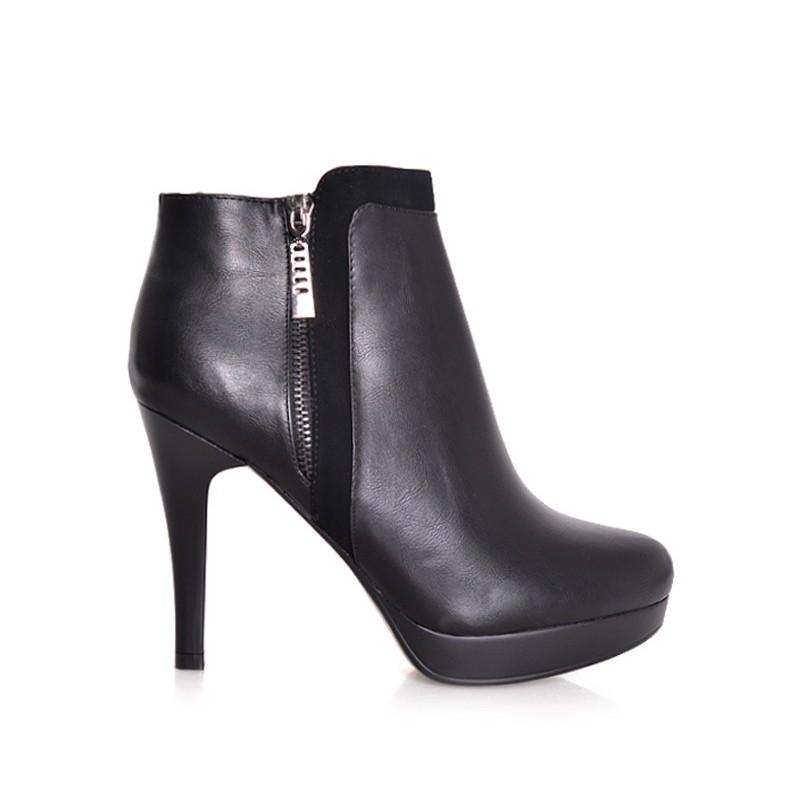 ... polobotky Dámské kotníkové boty na podpatku. Předchozí f6996a622b