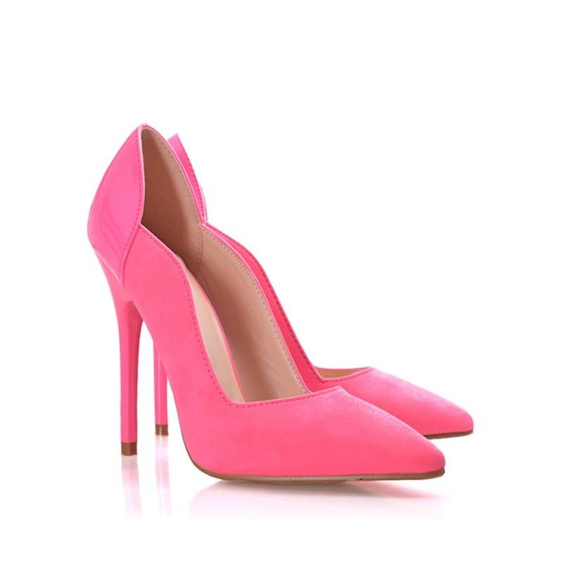 Dámské lodičky růžové barvy na každou příležitost - manozo.cz 8959c6a827