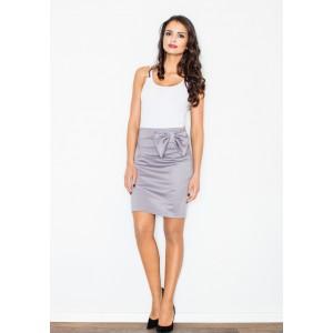 Dámské elastické sukně s mašlí