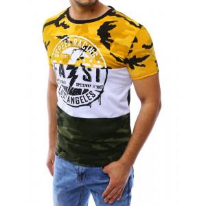 Army tričko, pěkné tričko, pánské tričko