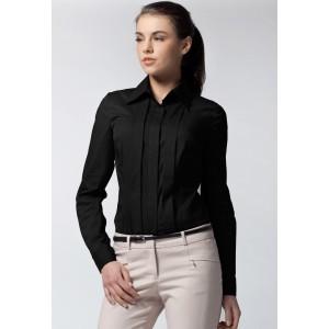 Elegantní dámská košile černé barvy