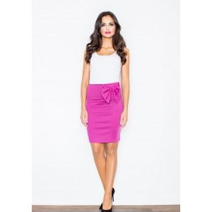 Tmavě růžová dámská společenská sukně
