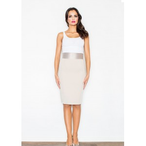 Dámská sukně béžové barvy na různé příležitosti