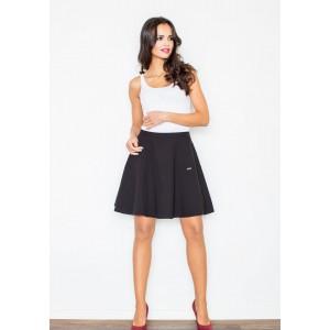 Stylová dámská sukně v černé barvě