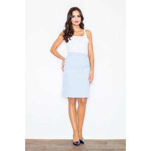 Bledě modré společenské sukně pro dámy