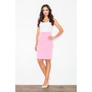 Společenská růžová sukně pro dámy