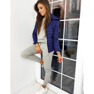 Stylová přechodná bunda v barvách elegantní modré