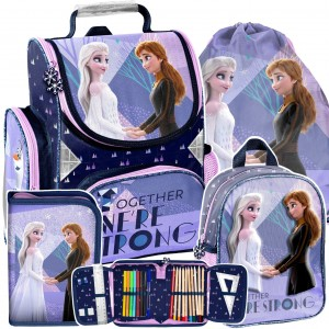 Školní 4-dílná taška FROZEN