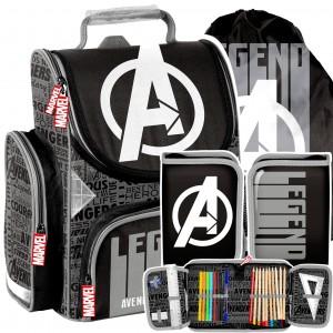 Třídílná školní taška Avengers