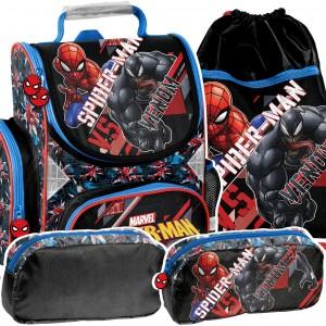 Stylová 3dílná školní taška SPIDERMAN