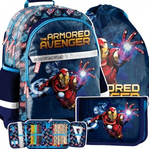 Školní batoh AVANGERS v třídílné sadě