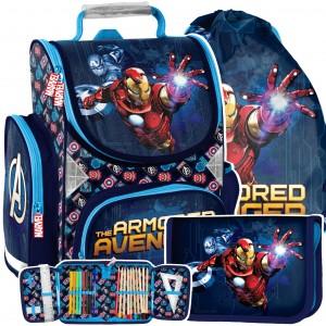 Školní taška s motivem AVANGERS v třídílné sadě