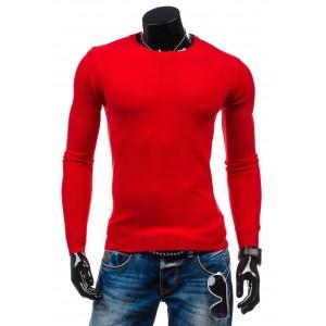 Červený pánský svetr