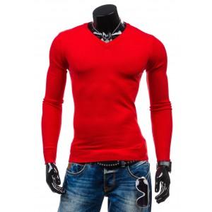 Pánský červený pulovr