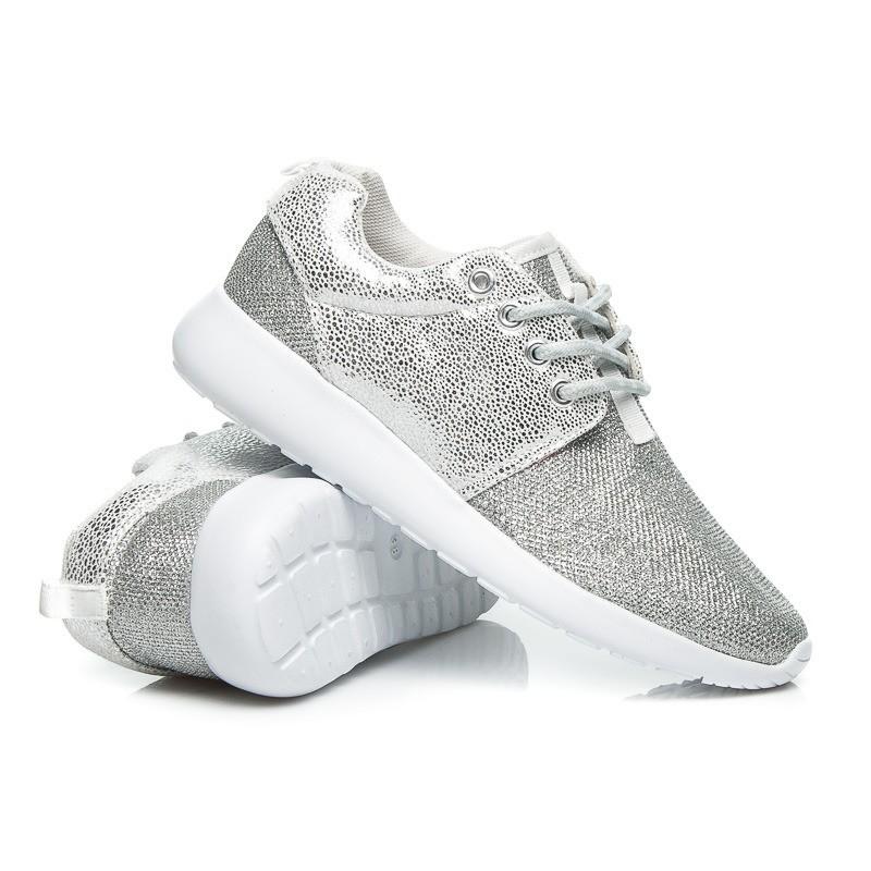 002c5fefac ... obuv Stříbrné sportovní tenisky dámské. Předchozí