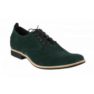 Pánské kožené boty zelené