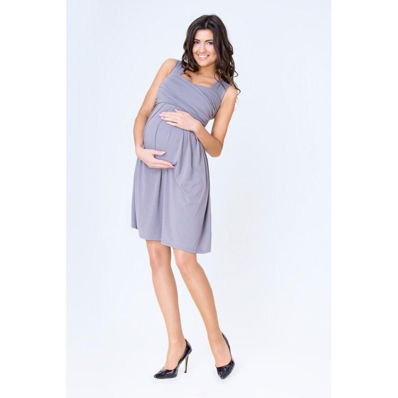 6678e6aa0a3 ... móda Grafitové těhotenské šaty společenské. Předchozí