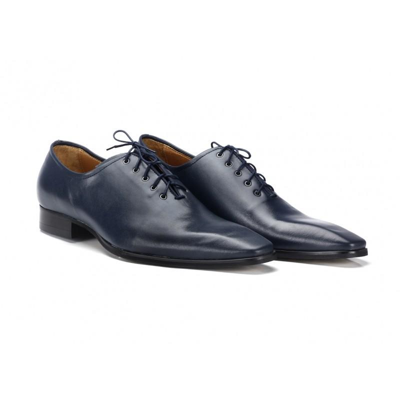 8d0e23411dc ... obuv Pánské společenské boty tmavě modré barvy COMODO E SANO. Předchozí