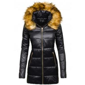 Elegantní dámské zimní bundy černé