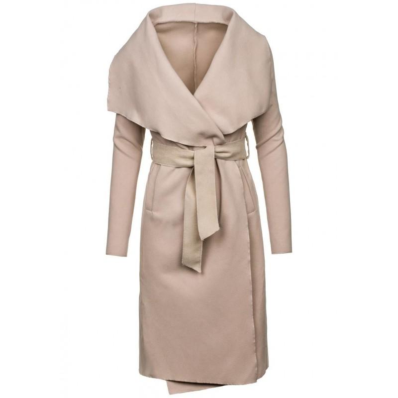 72fd1660c0 ... kabáty Dámský béžový kabát bez kapuce. Předchozí