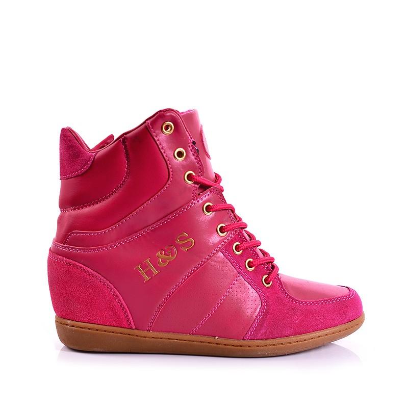 a01d0aadbc5 ... obuv Pohodlné dámské kotníkové boty růžové barvy. Předchozí