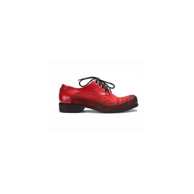 d833eeb6f0 ... boty Červené pánské kožené boty COMODO E SANO se šněrováním. Předchozí