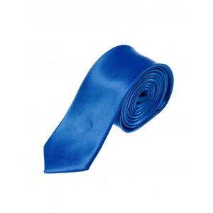 Společenská pánská kravata modré barvy