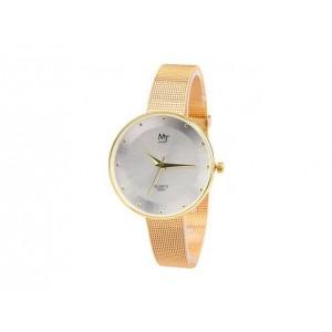 Dámské zlaté hodinky s ozdobnými kamínky - manozo.cz 3edc975a85