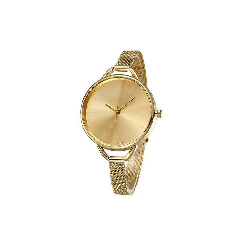 c6d67c40405 ... hodinky Jednoduché dámské hodinky zlaté. Předchozí