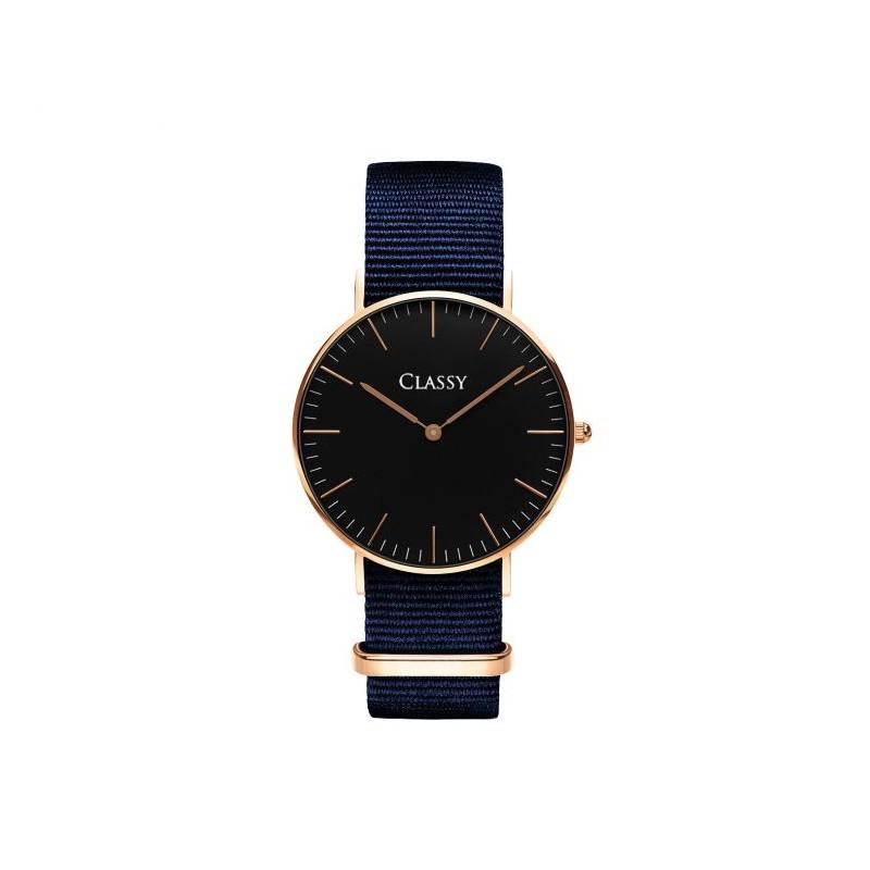 Stylové dámské hodinky v modré barvě - manozo.cz b77bcdf99e6