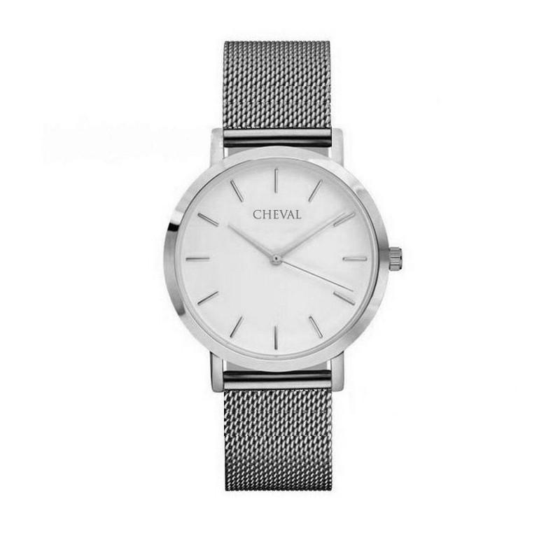 ... hodinky Stylové dámské hodinky stříbrné barvy. Předchozí 28d564b4c4