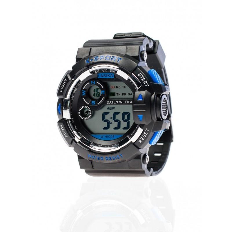 088d41e5d61 ... hodinky Pánské sportovní hodinky černé barvy. Předchozí