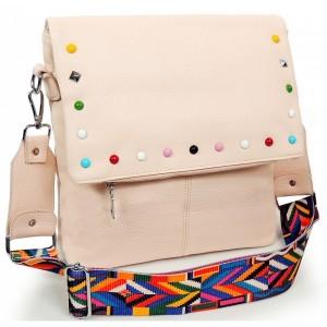 Dámské crossbody kabelky v růžové barvě