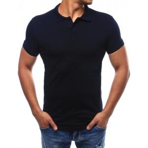 Černá elegantní polokošile pro pány