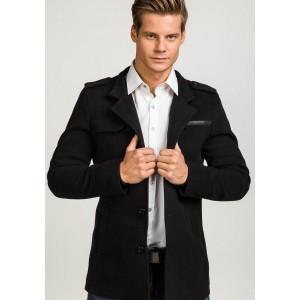 Elegantní zimní kabát pro pány