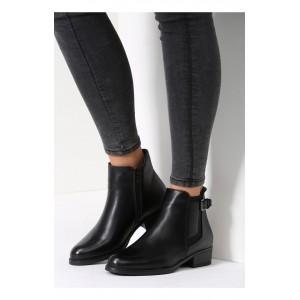 Černá dámská obuv na zimu