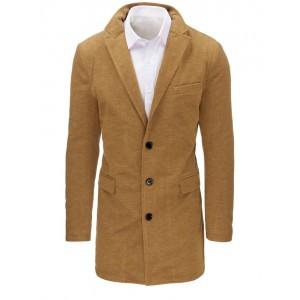 Stylové pánské kabáty v béžové barvě