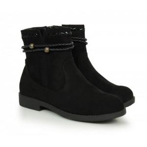 Dámské zimní boty černé barvy