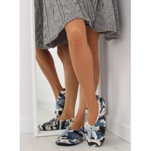 ARMY dámské pantofle modré barvy