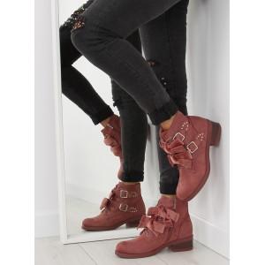 Elegantní dámská obuv růžové barvy