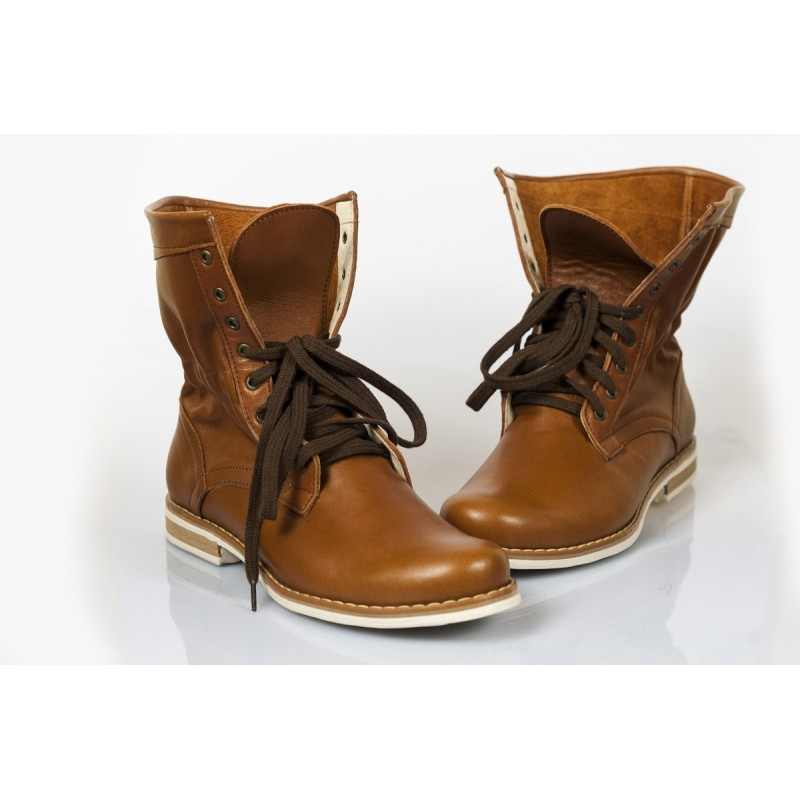 b233558d6d ... kožené boty hnědé DT210. Předchozí. Dámske topánky Pravá ...
