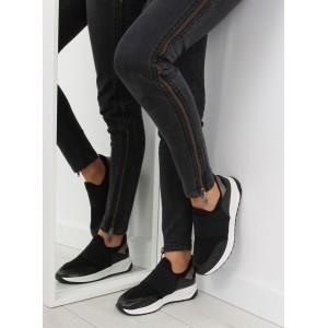 Komfortní černá dámská sportovní obuv z prodyšného materiálu