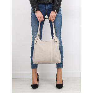 Béžová dámská kabelka do ruky na každý den