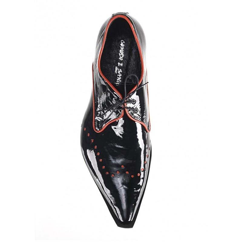 1db4a7df44d8 ... topánky čierne PT066 · Pánske kožené extravagantné ...