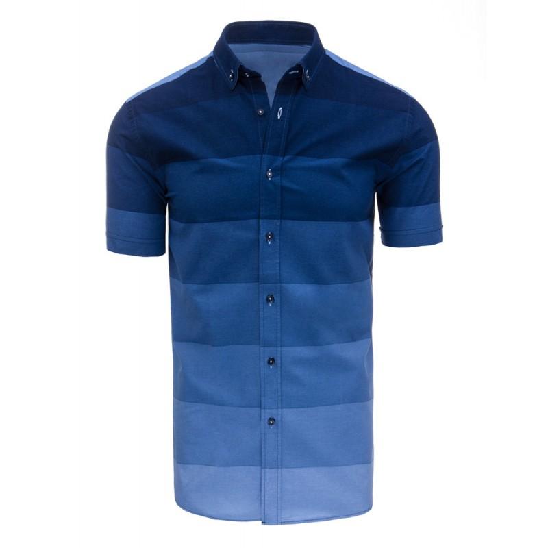 Předchozí. Moderní pánské košile v modré barvě s krátkým rukávem a  pruhovaným vzorem · Moderní pánské košile ... fcf99adc1b